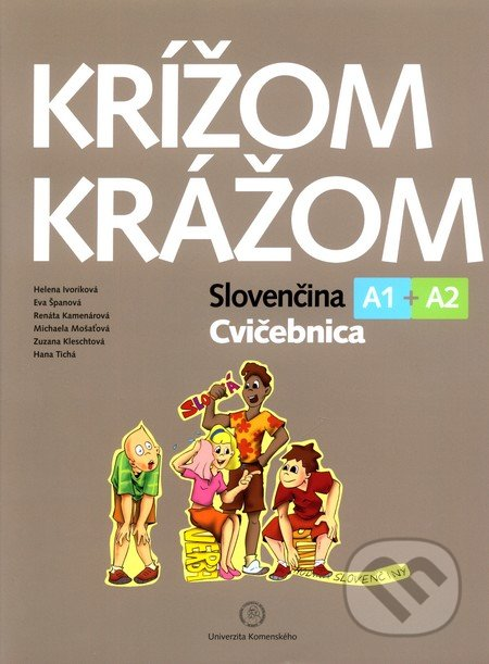 Newdawn.it Krížom krážom - Slovenčina A1 + A2 - Cvičebnica Image