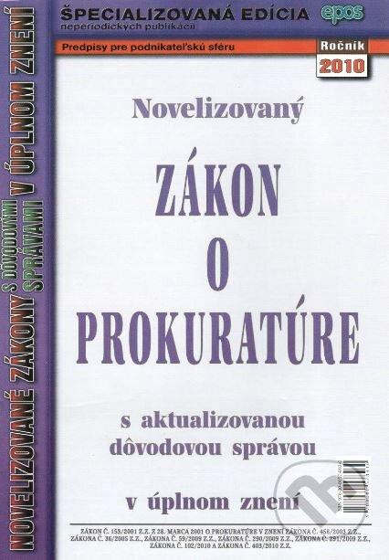 Fatimma.cz Novelizovaný Zákon o prokuratúre Image
