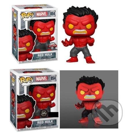 Funko POP Marvel: Hulk - Red Hulk exclusive special edition (s možností GITD CHASE verze) - Funko