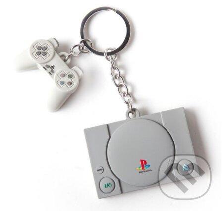 Prívesok na kľúče Playstation: Console & Controller