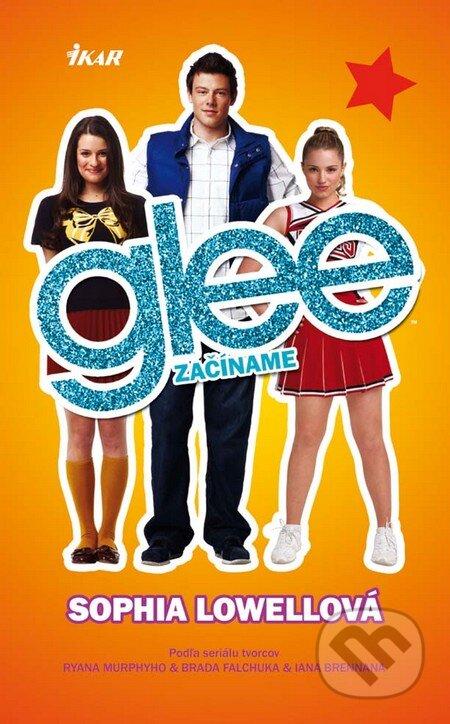 2678d2a2fcb6 Kniha  Glee - Začíname (Sophia Lowellová)