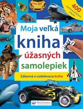 Fatimma.cz Moja veľká kniha úžasných samolepiek Image