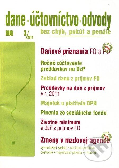 Fatimma.cz Dane, účtovníctvo, odvody 3/2011 Image