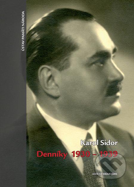 Denníky 1930-1939 - Karol Sidor