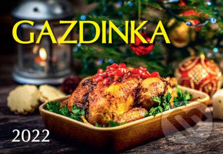 Nástenný kalendár Gazdinka 2022 - Spektrum grafik