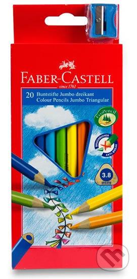Faber - Castell Pastelky trojhranné Junior - středně silné 20 ks - Faber-Castell