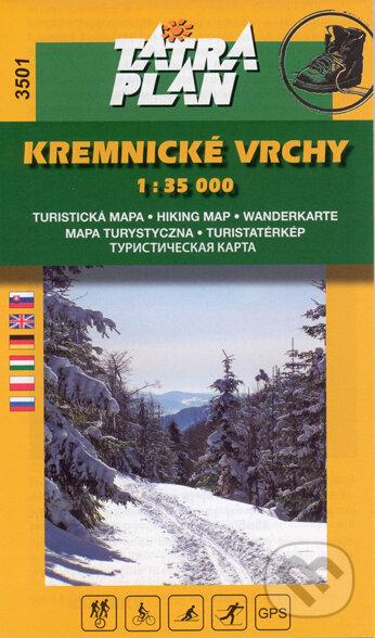 Fatimma.cz Kremnické vrchy 1:35 000 Image