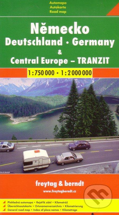 Peticenemocnicesusice.cz Německo, Central Europe - tranzit  1:750 000   1: 2 000 000 Image