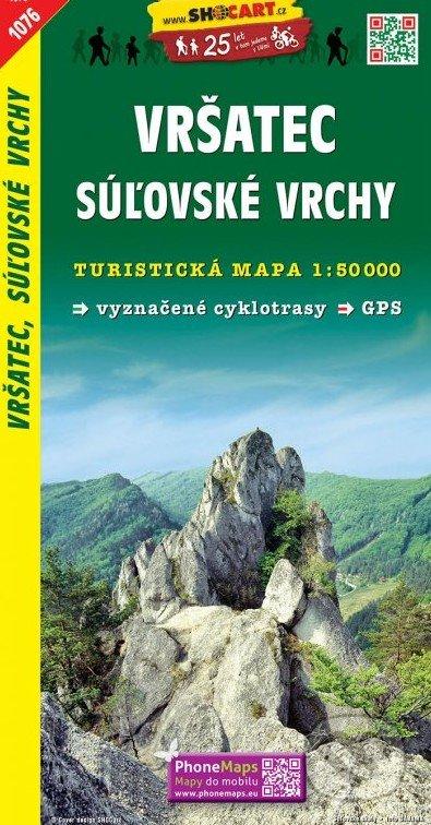 Vršatec, Súľovské vrchy 1:50 000 - SHOCart