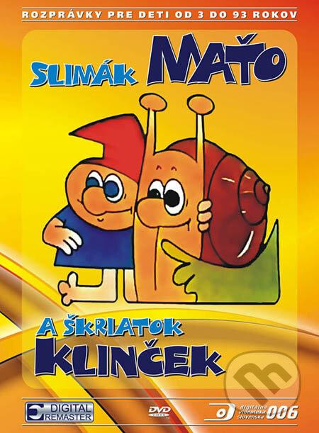 Slimák Maťo a škriatok Klinček I. DVD