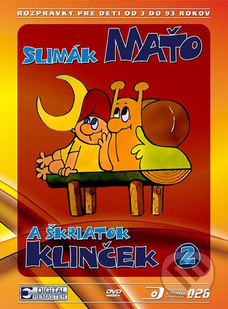 Slimák Maťo a škriatok Klinček II. DVD