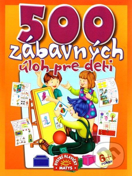 Fatimma.cz 500 zábavných úloh pre deti Image