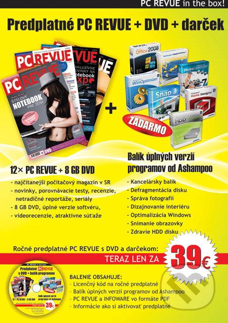 Kniha  PC REVUE in the BOX (PC REVUE 82df10f6aae