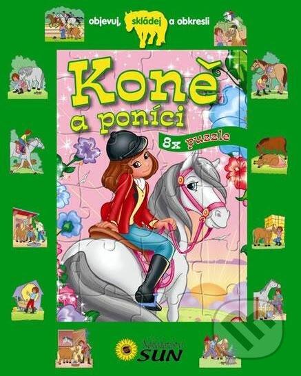 Interdrought2020.com Koně a poníci - 8x puzzle Image