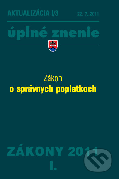 Peticenemocnicesusice.cz Zákon o správnych poplatkoch - Aktualizácia I/3 Image