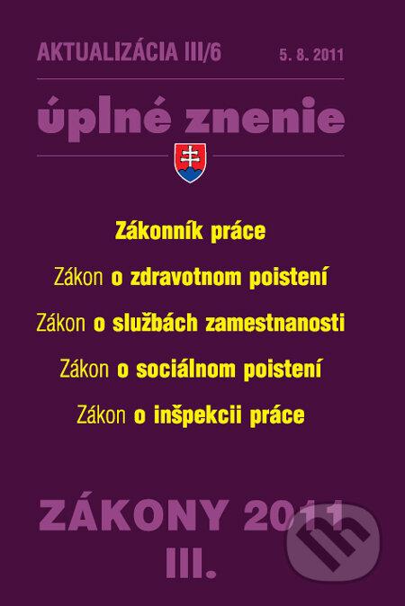 Fatimma.cz Aktualizácia III/6 - Zákonník práce Image