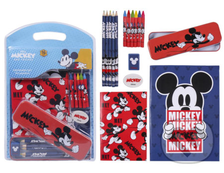 Set školských potrieb Disney: Mickey Mouse