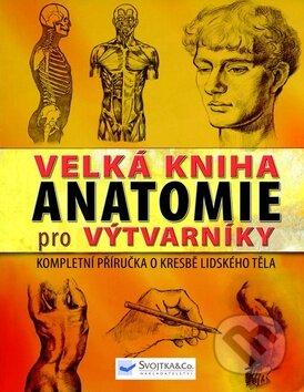 Interdrought2020.com Velká kniha anatomie pro výtvarníky Image