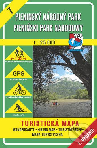 Pieninský národný park 1:25 000