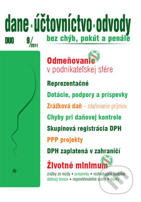 Peticenemocnicesusice.cz Dane, účtovníctvo, odvody 9/2011 Image