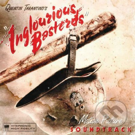 Quentin Tarantino's Inglourious Basterds Soundtrack (Clear Red) LP - Hudobné albumy