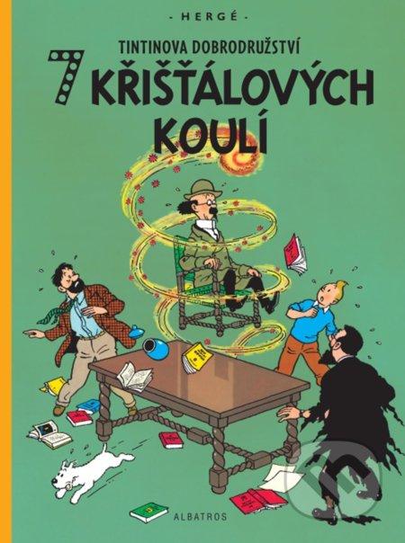 7 křišťálových koulí - Hergé