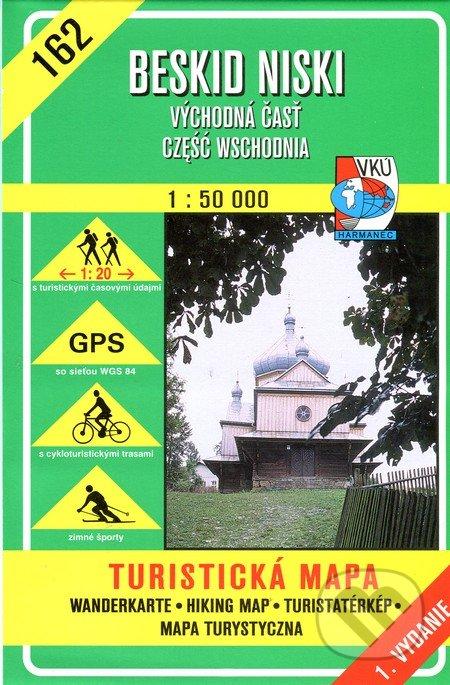 Venirsincontro.it Beskid Niski 1:50 000 - Východná časť - turistická mapa č. 162 Image