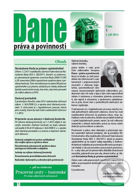 Fatimma.cz Dane – práva a povinnosti (časopis) Image
