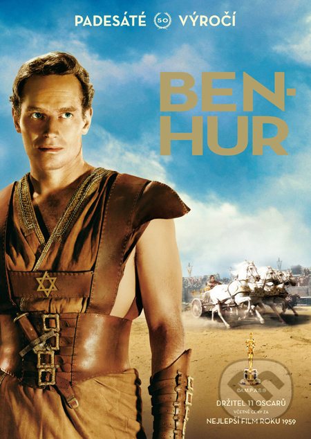 Ben Hur: Výroční edice - 2 DVD DVD