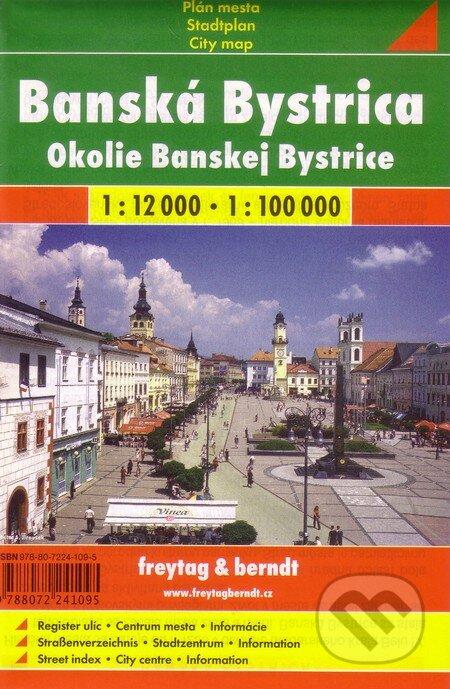 Siracusalife.it Banska Bystrica - okolie 1:12 000    1:100 000 Image