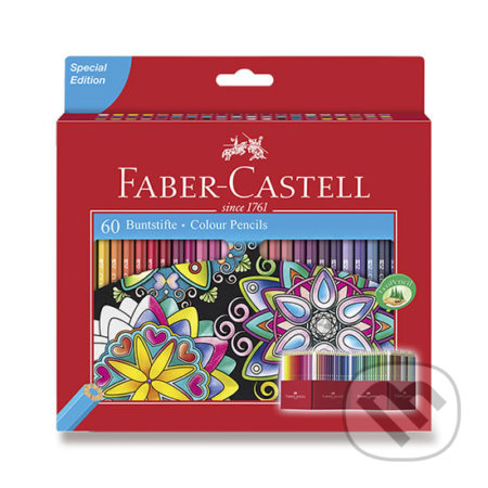Faber - Castell Pastelky šestihranné 60 ks - Faber-Castell