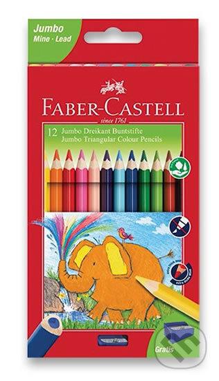 Faber - Castell Pastelky trojhranné Extra Jumbo 12 ks - Faber-Castell