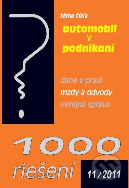 Fatimma.cz 1000 riešení 11/2011 Image