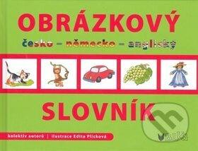Newdawn.it Obrázkový slovník česko - něměcko - anglický Image