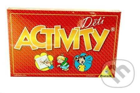 73e127591 Spoločenské hry: Activity děti (Piatnik) | Martinus