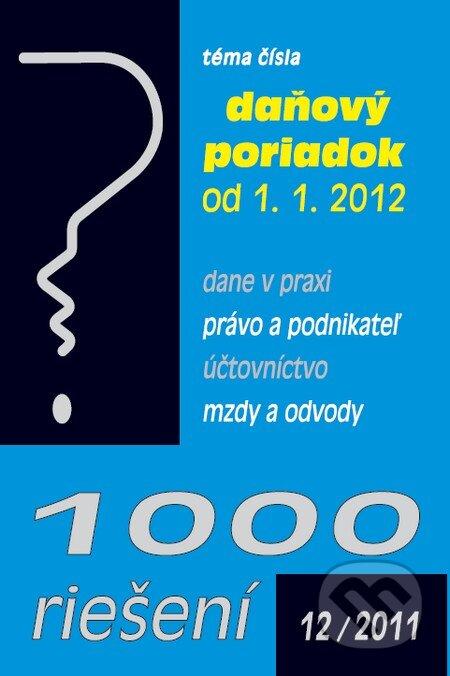 Interdrought2020.com 1000 riešení 12/2011 Image