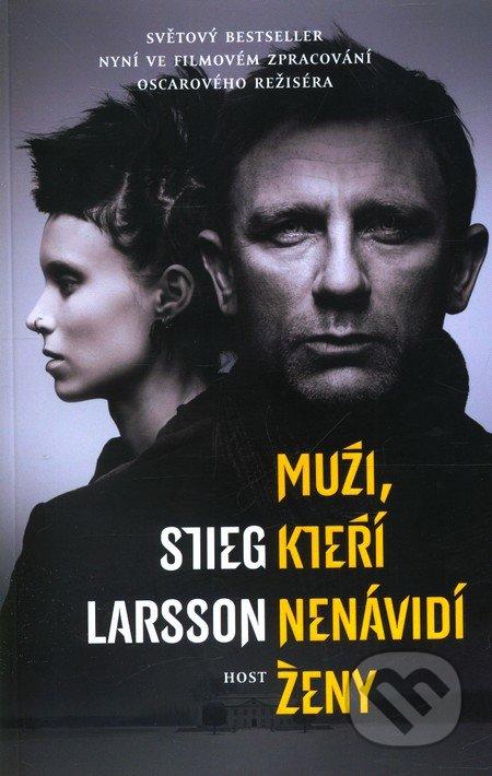 Muži, kteří nenávidí ženy (filmová obálka) - Stieg Larsson