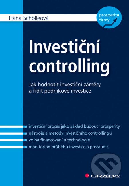 Investiční controlling - Hana Scholleová