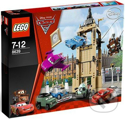 LEGO Cars 2 8639 - Big Bentley na úteku -