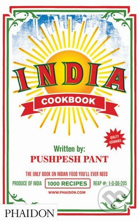 India Cookbook - Pushpesh Pant, Andy Sewell