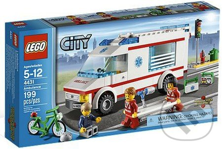 LEGO City 4431 - Sanitka -