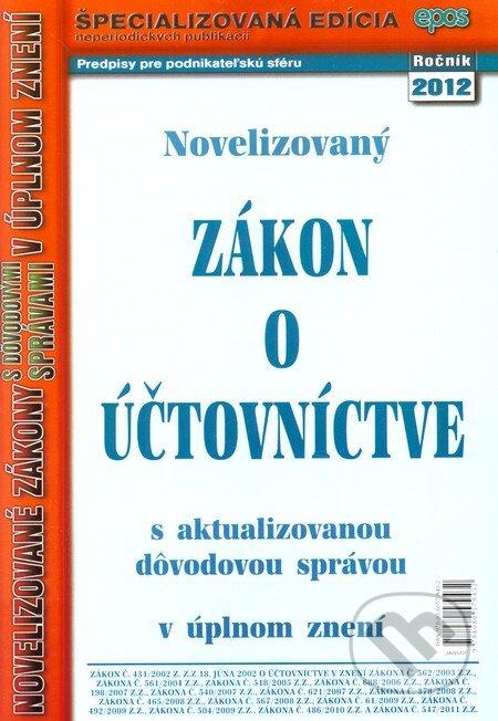 Fatimma.cz Novelizovaný Zákon o účtovníctve (5/2012) Image