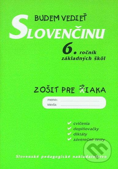 Fatimma.cz Budem vedieť slovenčinu - 6. ročník základných škôl Image