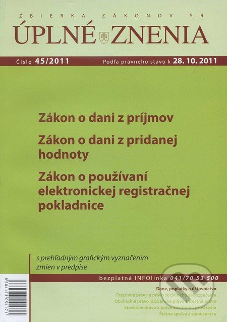 Peticenemocnicesusice.cz Úplné znenia 45/2011 Image