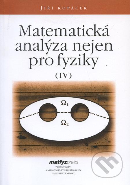 Fatimma.cz Matematická analýza nejen pro fyziky IV. Image