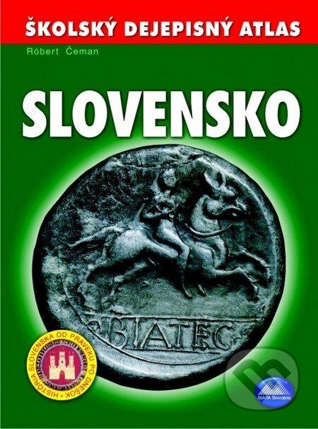 Newdawn.it Školský dejepisný atlas Slovensko Image