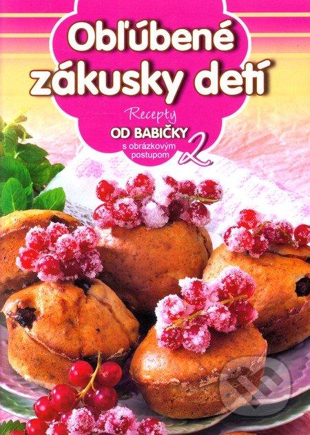 b4ba642d2 Kniha: Obľúbené zákusky detí (2) (EX book) | Martinus