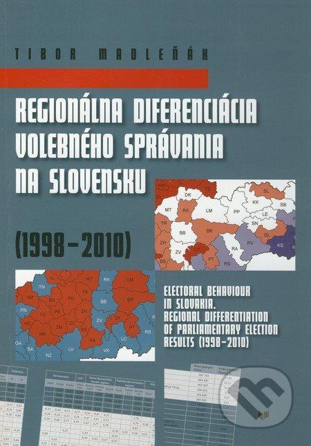 Fatimma.cz Regionálna diferenciácia volebného správania na Slovensku (1998 - 2010) Image