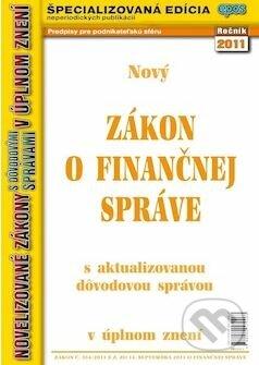Fatimma.cz Zákon o finančnej správe Image