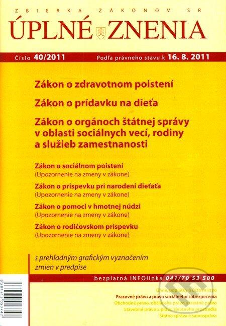 Fatimma.cz Úplné znenia 40/2011 Image